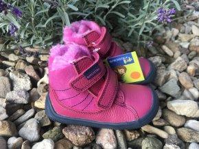 Protetika Kabi fuxia - dětská zimní obuv