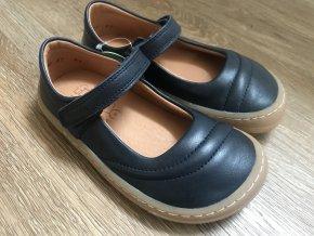 Froddo barefoot baleríny (tmavě modré) - kožená dětská celoroční obuv