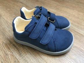 Baby Bare Shoes Febo Spring (Navy) - dětská celoroční obuv