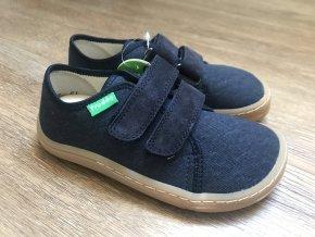 Froddo barefoot látkové (tmavě modré) - dětská celoroční obuv