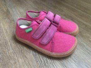 Froddo barefoot látkové (fuchsiové) - dětská celoroční obuv