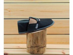 Pegres Barefoot papučky BF01 černá