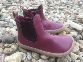 Froddo barefoot G3160136-2 (bordó) - dětská celoroční obuv