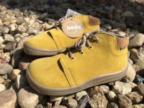Beda Barefoot Mauro (kotníkové, s membránou) - dětská celoroční obuv