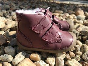 Bundgaard Petit Winter Plum - dětská zimní obuv