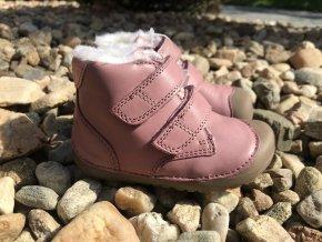 Bundgaard Petit Winter Nostalgia Rose - dětská zimní obuv
