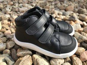 Baby Bare Shoes Febo Fall Black (okop) - dětská celoroční obuv
