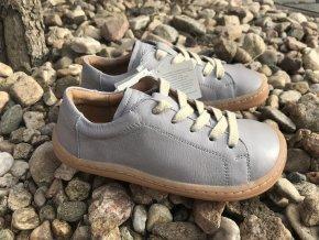 Froddo barefoot G3130173-3 (světle šedé) - kožená celoroční obuv