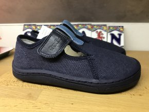 Froddo barefoot látkové (modré, jeden zip)