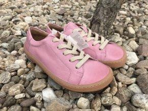 Froddo barefoot G3130173-6 (světle růžové) - kožená celoroční obuv