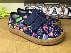 Froddo barefoot látkové (srdce) - dětská celoroční obuv