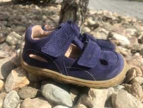Lurchi Nando Azul - kožená dětská letní obuv