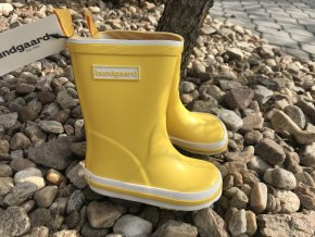 Bundgaard Classic Rubber Boots (žluté) - dětské holínky
