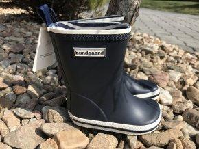Bundgaard Classic Rubber Boots (modré) - dětské holínky