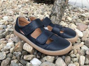Froddo barefoot G3150197-2 (tmavě modré) - kožené sandály