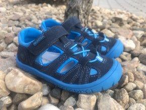 Protetika Bard (Fuxia, Navy) - dětská letní obuv