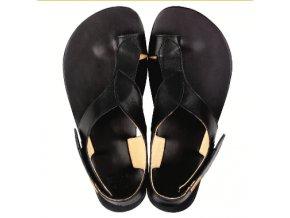 Tikki Soul (kožené, černé) - dámské sandály