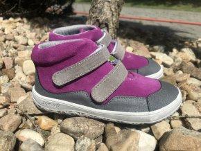 Jonap Barefoot Bella růžová (S) - dětská celoroční obuv