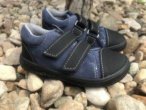 Jonap Barefoot model B16/S (modré) - dětská celoroční obuv