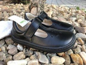 Froddo barefoot baleríny (černé) - kožená dětská celoroční obuv