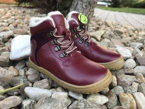 Lurchi Nesti (různé barvy) - kožená dětská zimní obuv