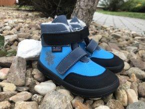 Jonap Barefoot Jerry  (modrá tyrkys) - dětská zimní obuv