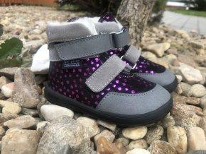 Jonap Barefoot Jerry  (srdce) - dětská zimní obuv