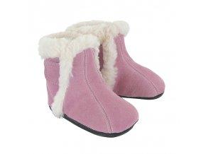 Jack & Lily REBECCA| PRO HOLKY - kožená dětská zimní obuv