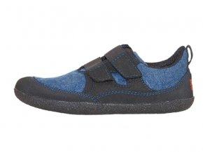 Sole Runner Puck modrá/černá - dětská celoroční obuv