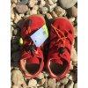 Lurchi Nathan Fuego - kožená dětská letní obuv