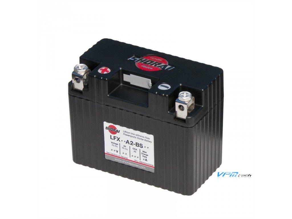 SHORAI lithium baterie LFX09A2-BS12 LifePO4