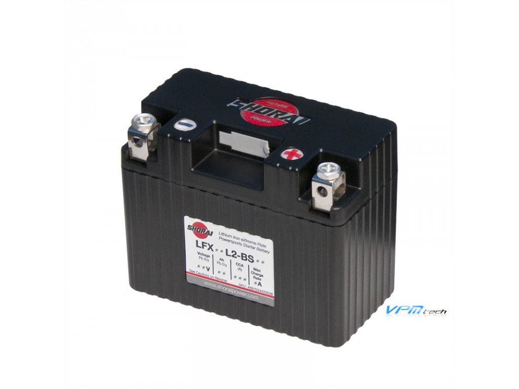 SHORAI lithium baterie LFX09L2-BS12 LifePO4