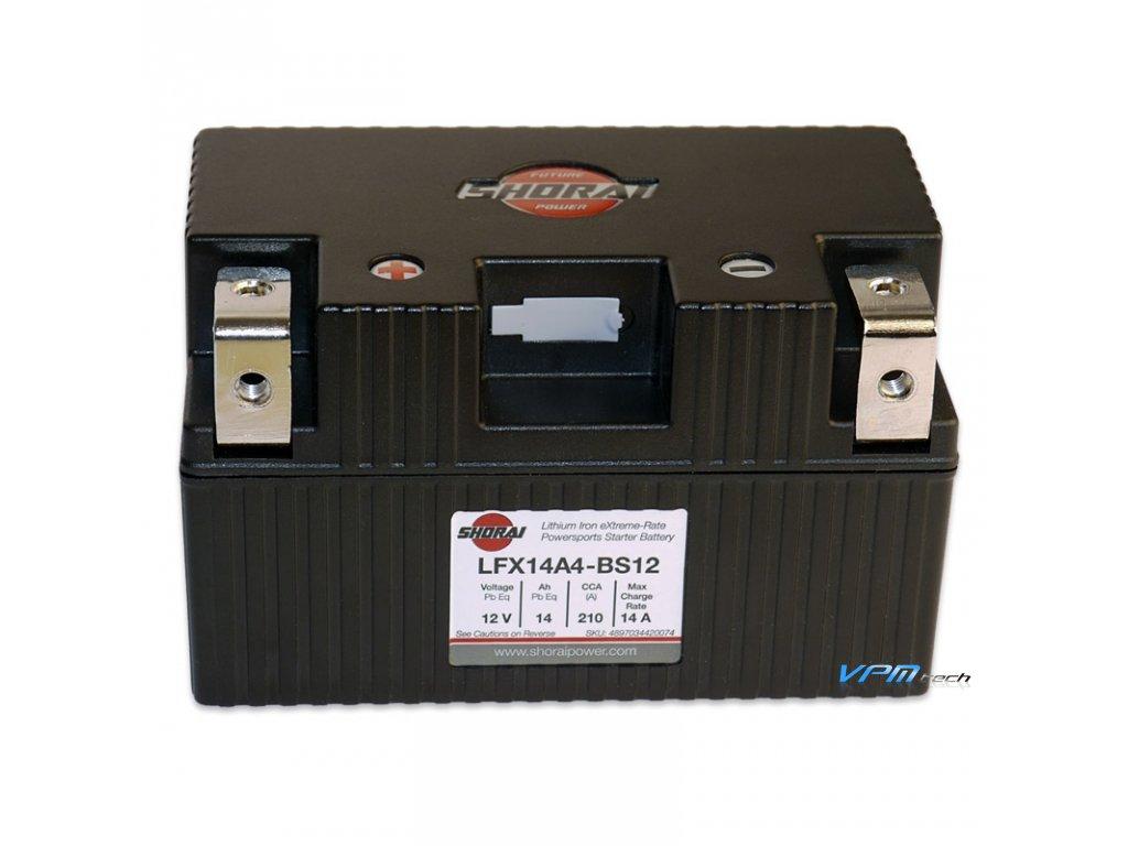 SHORAI lithium baterie LFX14A4-BS12 LifePO4