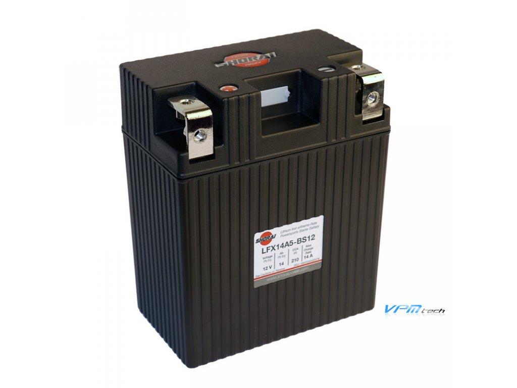 SHORAI lithium baterie LFX14A5-BS12 LifePO4