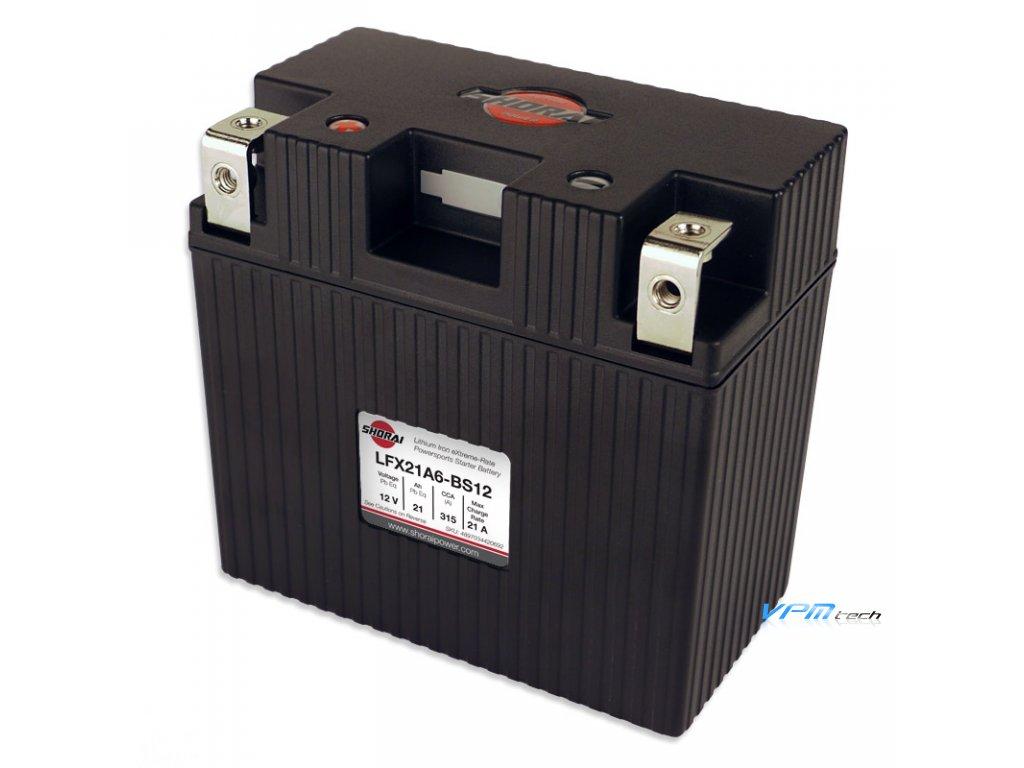 SHORAI lithium baterie LFX21A6-BS12 LifePO4