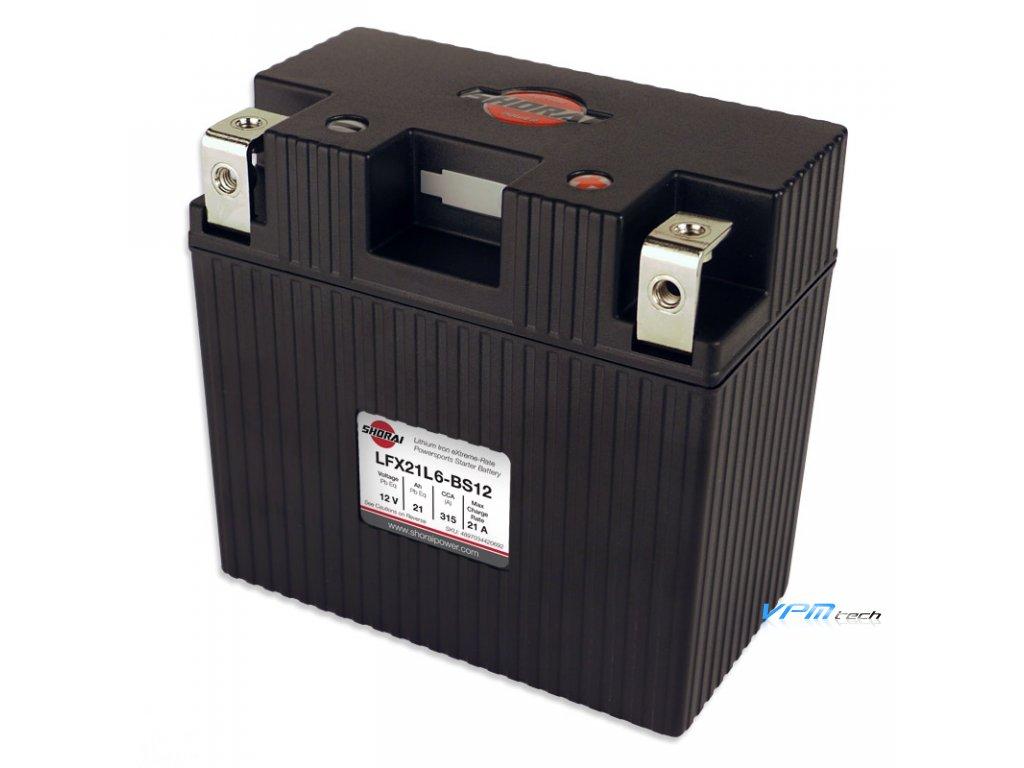 SHORAI lithium baterie LFX21L6-BS12 LifePO4