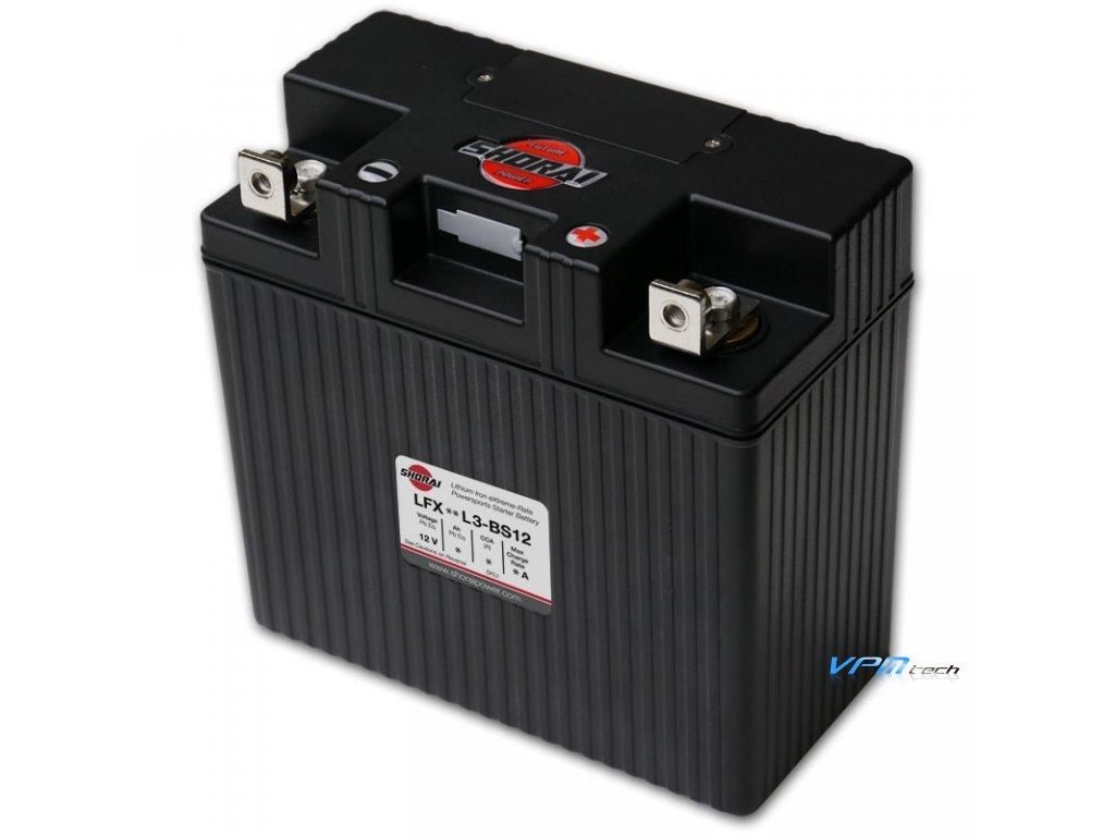 SHORAI lithium baterie LFX24L3-BS12 LifePO4