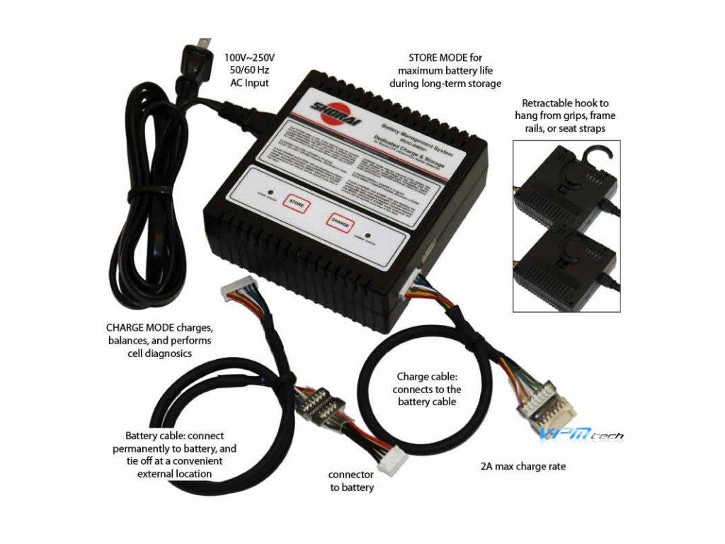 SHORAI nabíječka baterii SHO-BMS01