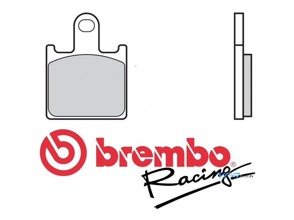 Brzdové destičky Brembo M508Z04 (107A48650)