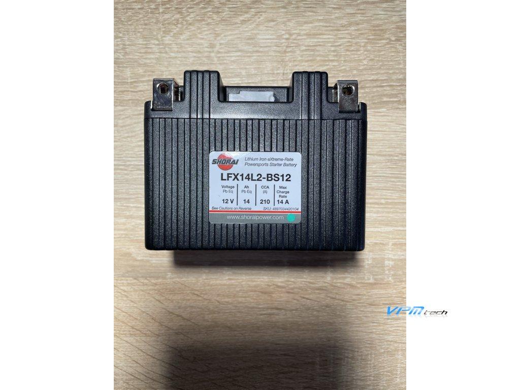 SHORAI lithium baterie LFX14L2-BS12 LifePO4 rozbalená