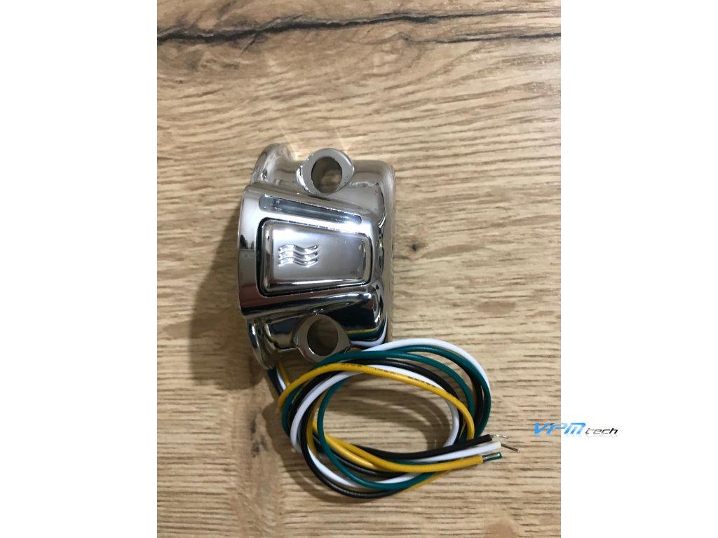 SYMTEC náhradní díl - kompletní ovladač s elektronikou pro HARLEY DAVIDSON - CHROME