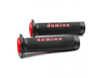 DOMINO racing grips Black/Red