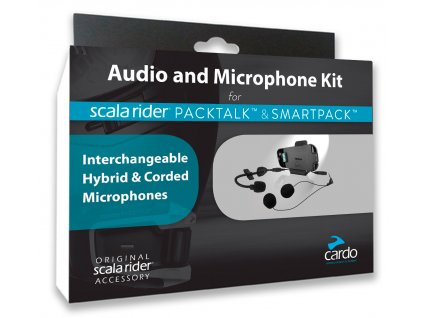 Cardo PACKTALK SMARTPACK Audio Kit SRAK0032
