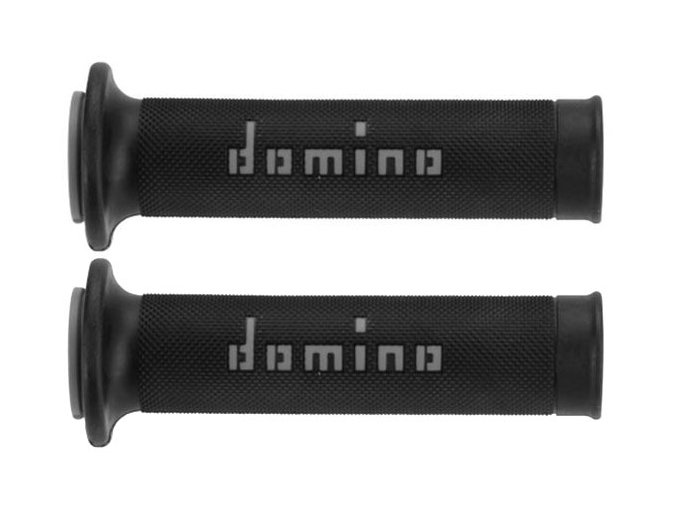 DOMINO Racing Grips Black/Grey