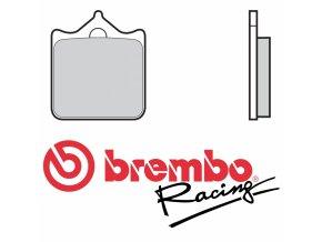 Brzdové destičky Brembo M478Z04 (107A48647)