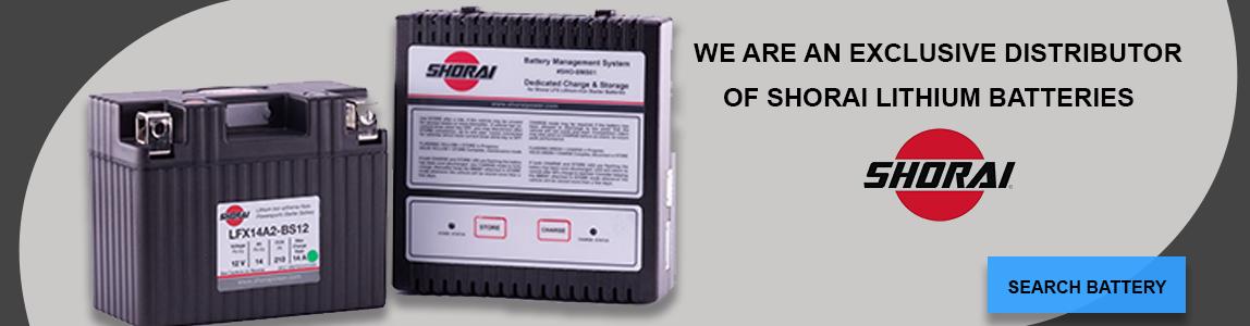 Shorai battery - searh battery online