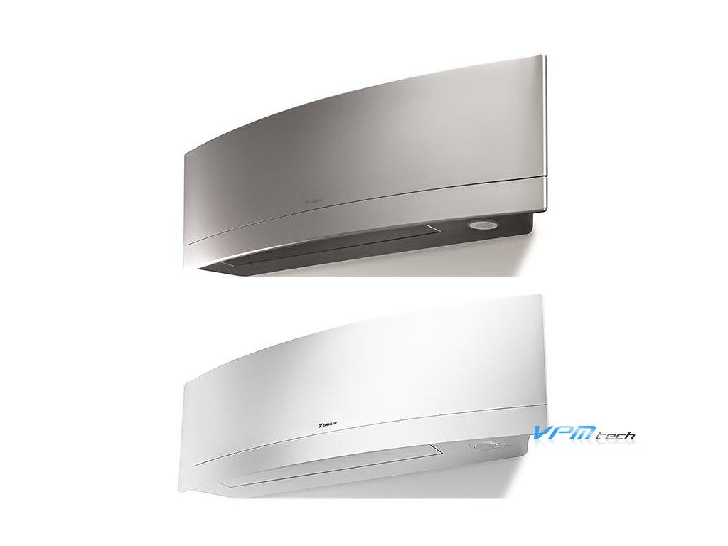 Daikin Emura in Silver and White One Green Solution 600x