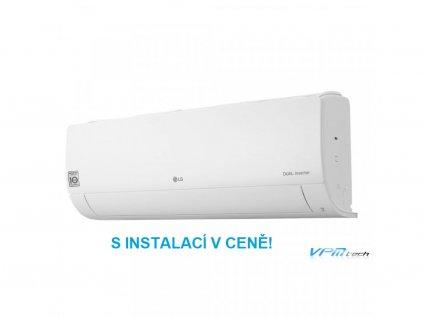 Nástěnná klimatizace LG Standard R32 S09EQ s instalací v ceně!