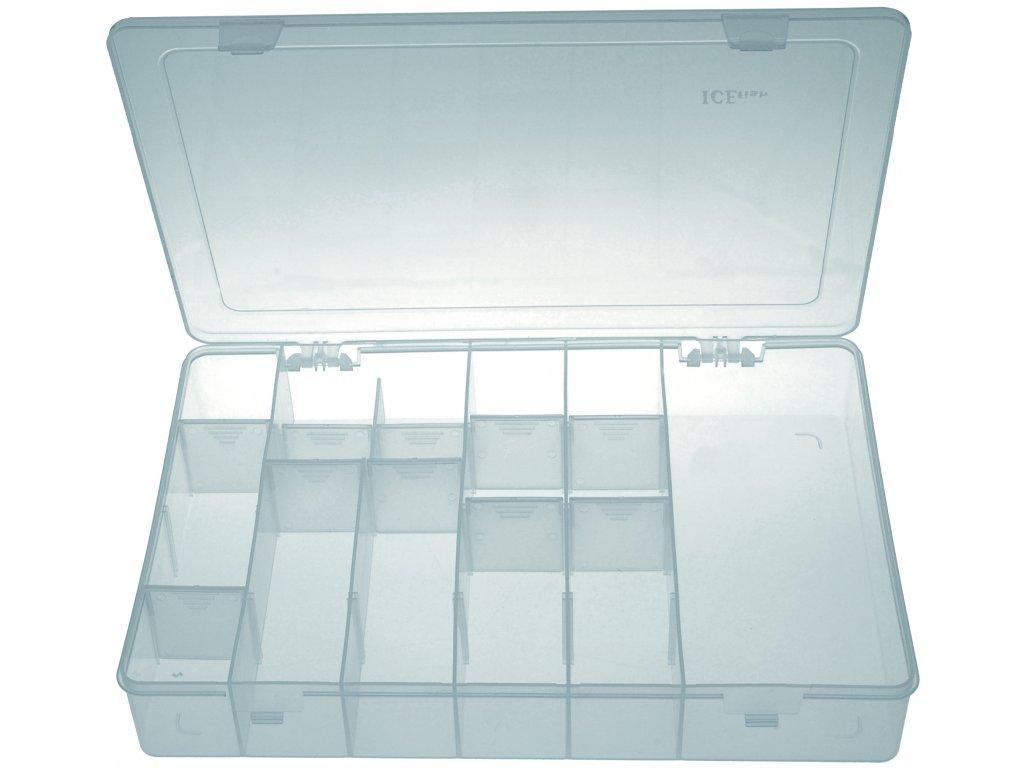 ICE Fish - Krabička twisterová univerzál  320 x 225 x 50 mm.