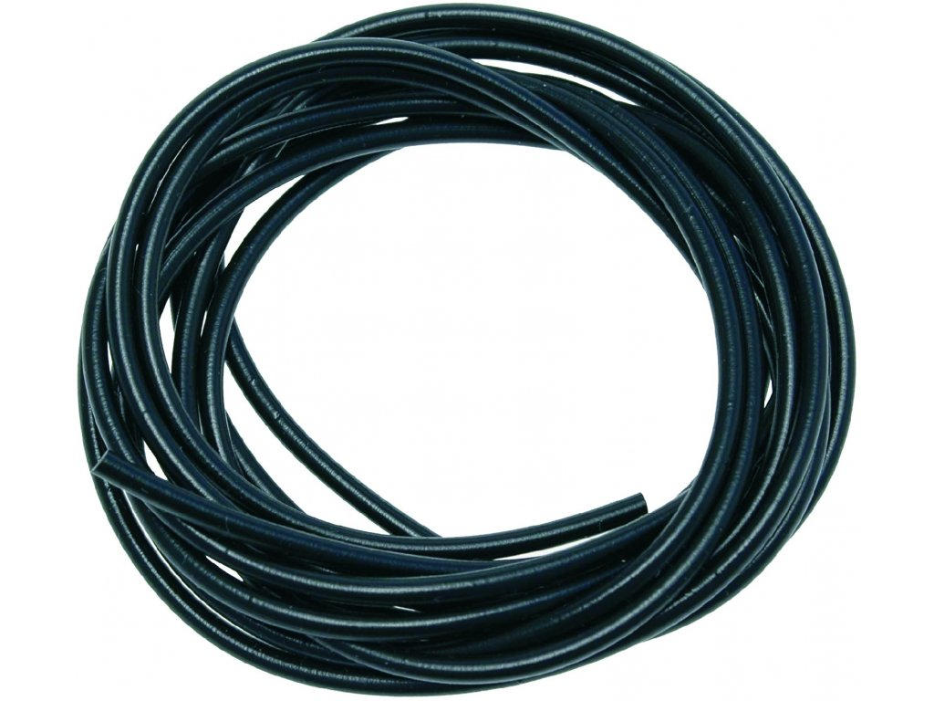 Carp System - Hadička PVC černá 2 m